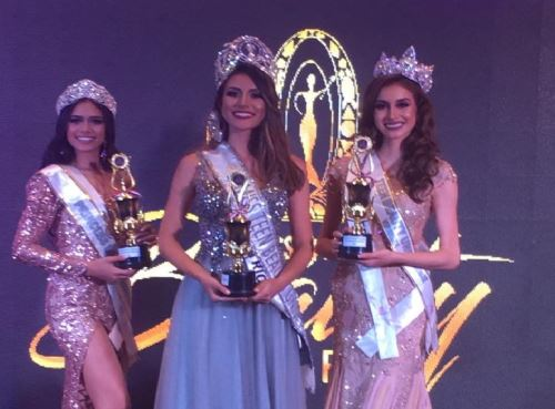 Peruana logra título de virreina en el Miss Teen Beauty 2019.