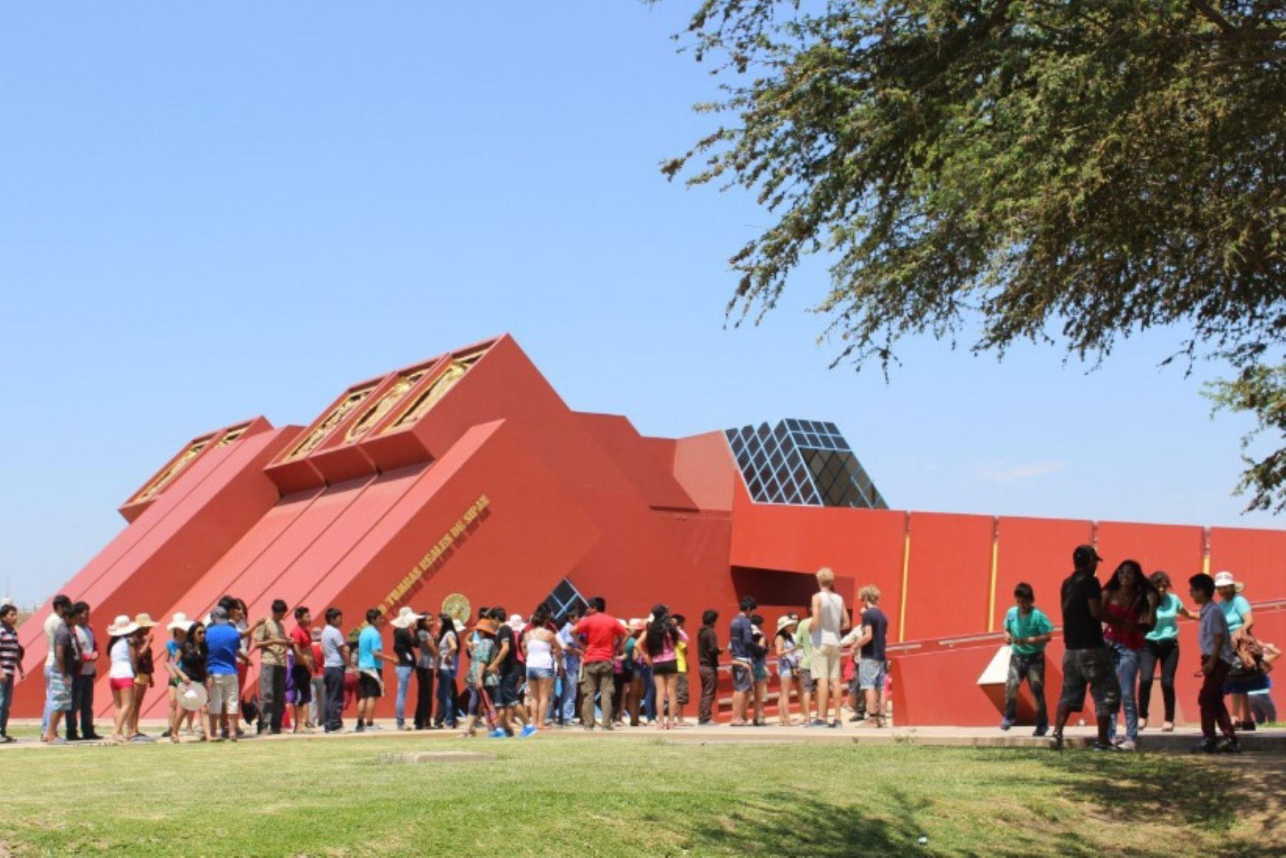 Museo Tumbas Reales de Sipán recibió casi 3 millones de visitantes desde su creación