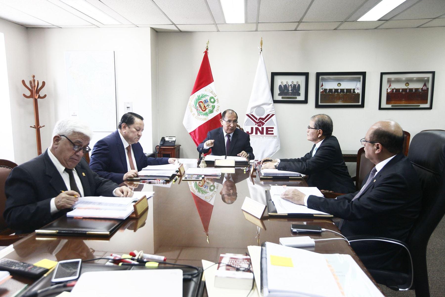 Pleno del Jurado Nacional de Elecciones.