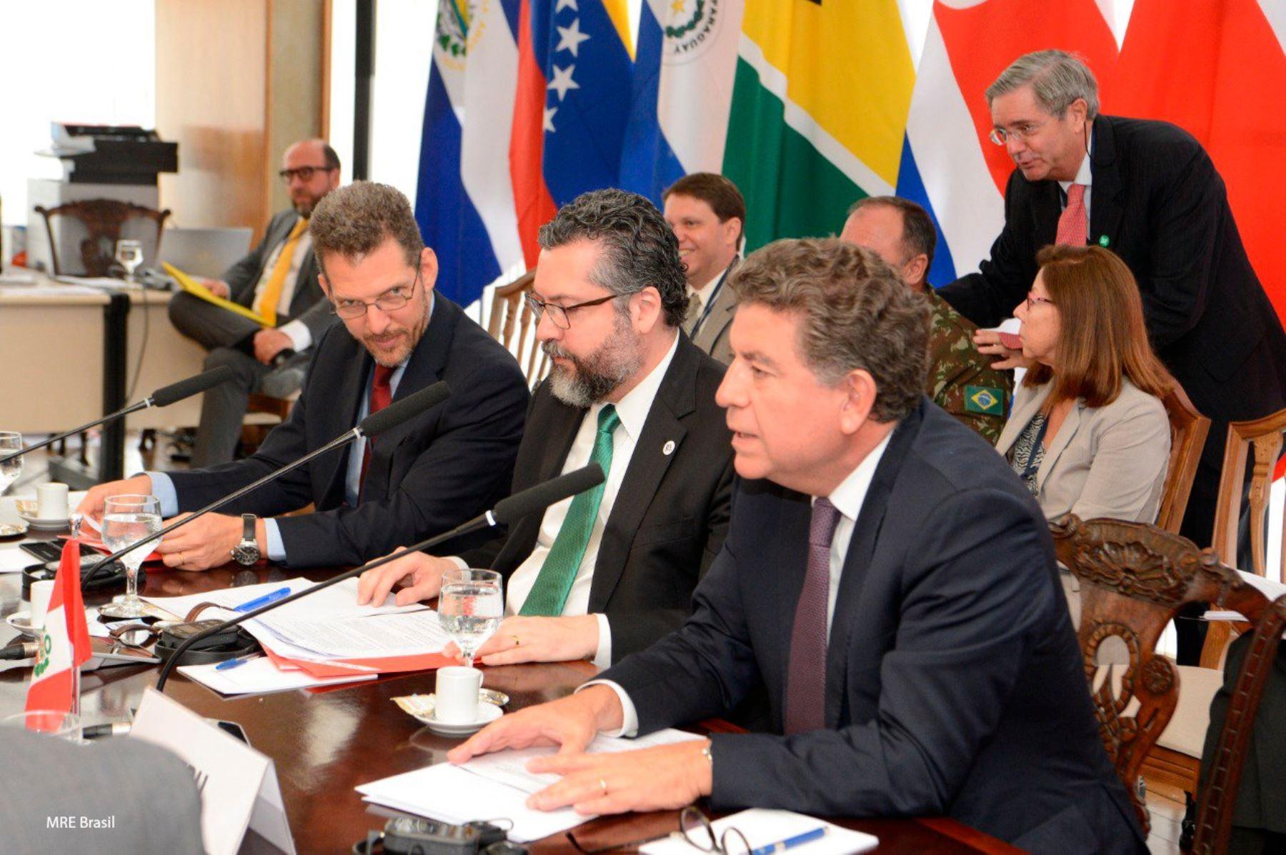 Canciller Gustavo Meza-Cuadra participa en inauguración de la XVI Reunión de Ministros de Relaciones Exteriores del Grupo de Lima
