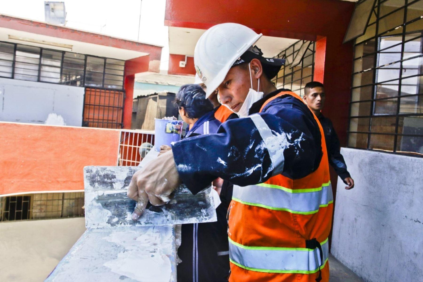 Colegios de Lima recibirán más de S/ 15 millones de para su mantenimiento. Foto: ANDINA/Difusión.