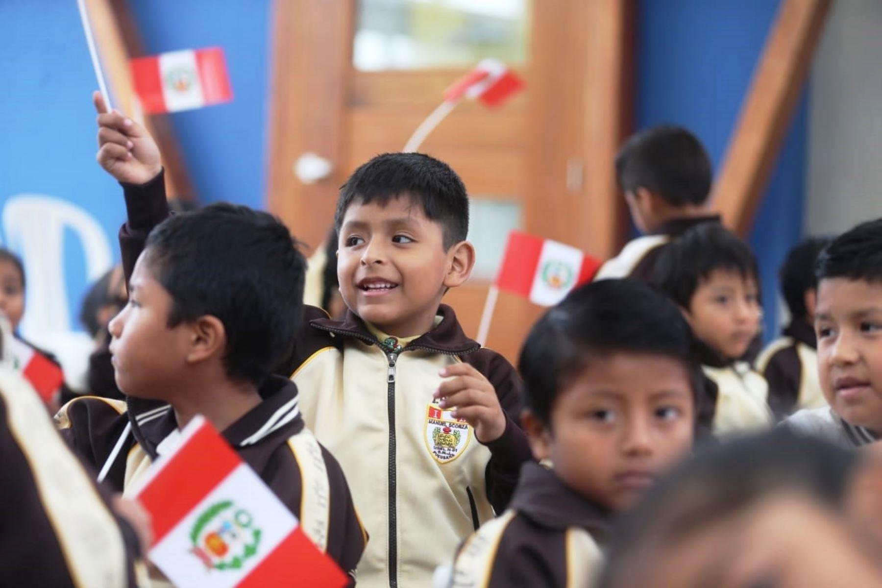 Niños del colegio Manuel Scorza de Pucusana estudiarán en moderna infraestructura. Foto: ANDINA/Difusión.