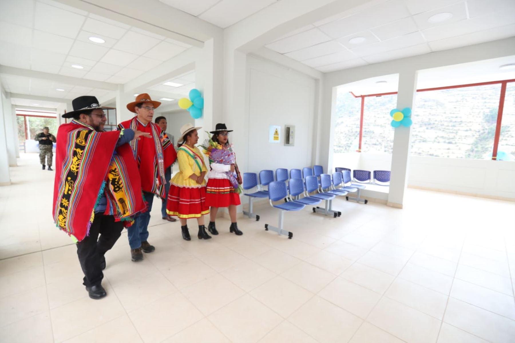 Presidente Martín Vizcarra inaugura terminal terrestre en Chuquibambilla, en provincia de Grau, región Apurímac.