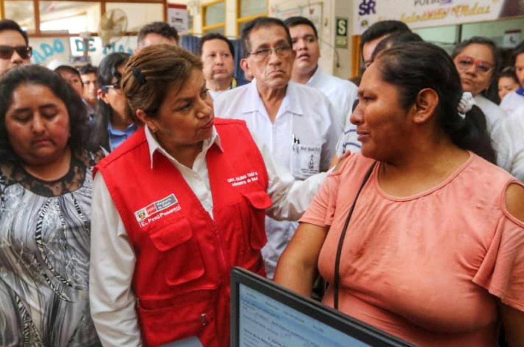 Minsa gestiona futura construcción del nuevo hospital Santa Rosa de Madre de Dios - Agencia Andina