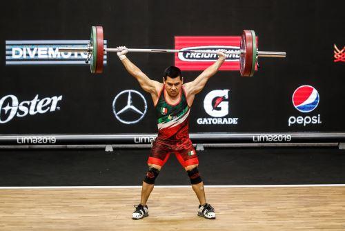 Gran Prix de levantamiento de pesas en coliseo Dibós