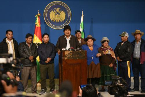 Bolivia: Presidente Evo Molares convoca a nuevas elecciones generales