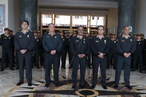 Reasignan en funciones a generales del Alto Mando de la Policía Nacional