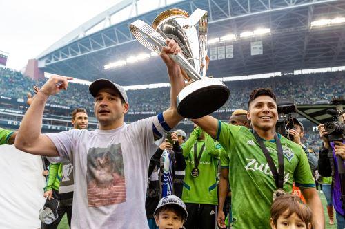 Equipo de Ruidiaz, Seattle Sounders FC se proclama campeón en Estados Unidos