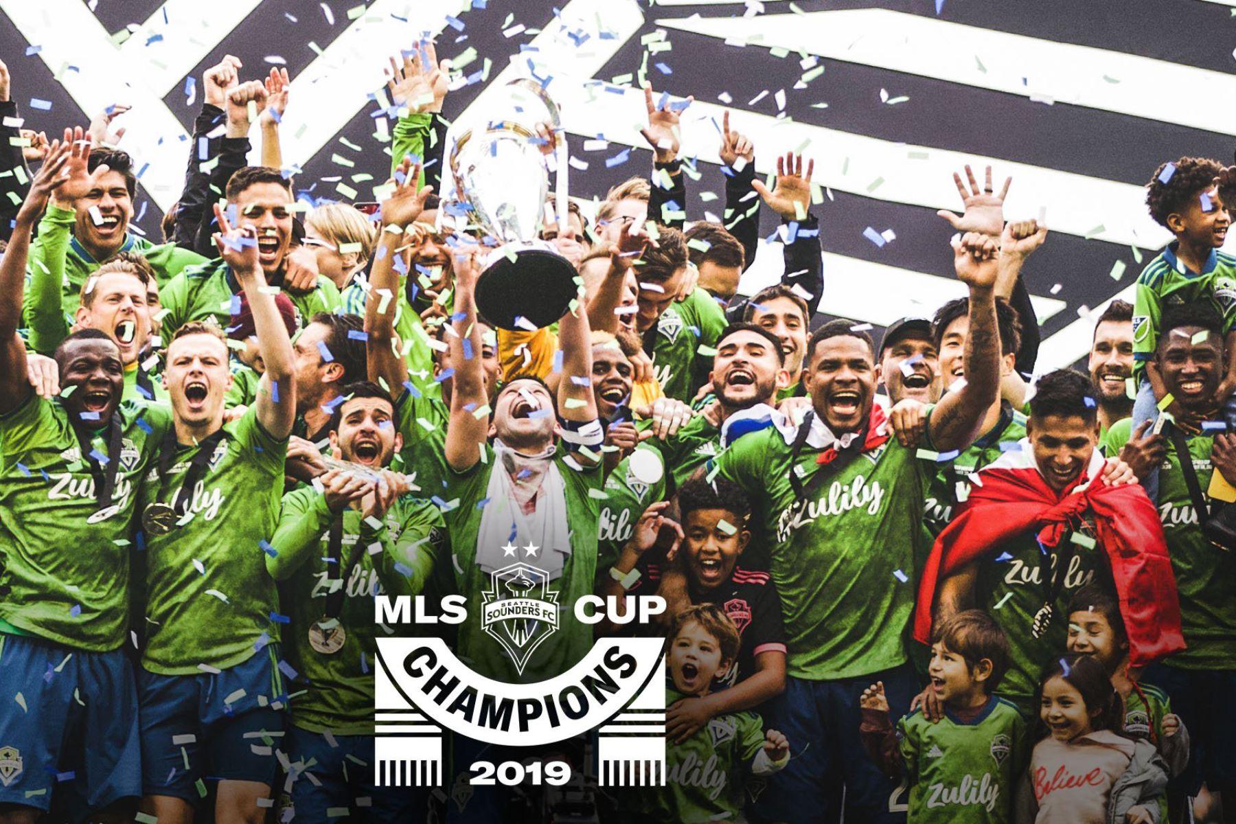 Equipo de Ruidiaz, Seattle Sounders FC se proclama campeón en Estados Unidos. Foto: INTERNET/Medios
