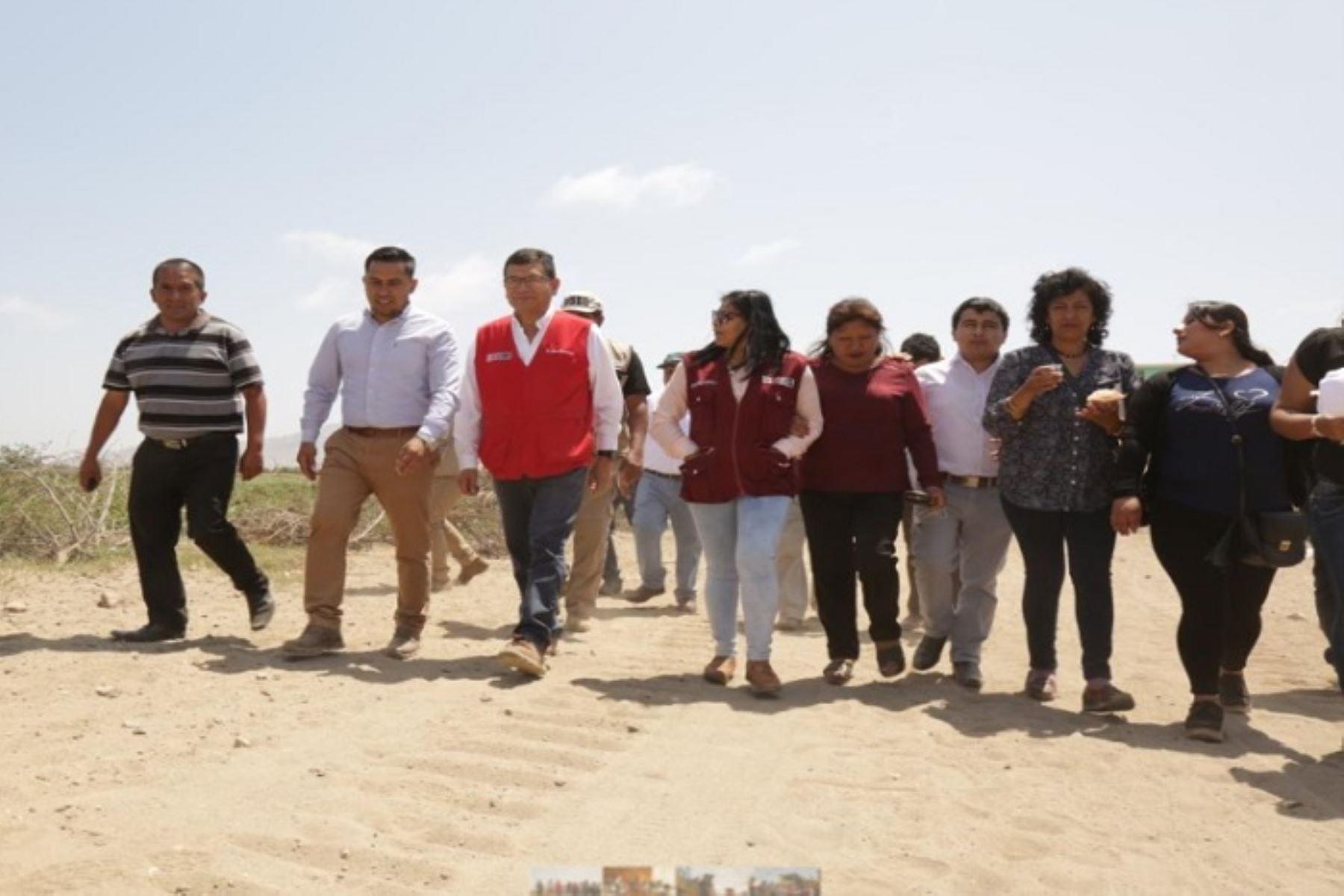 Minagri trabaja en obras nuevas en Lambayeque para enfrentar lluvias - Agencia Andina