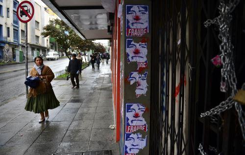Bolivia: persisten disturbios e incertidumbre tras renuncia de Evo Morales