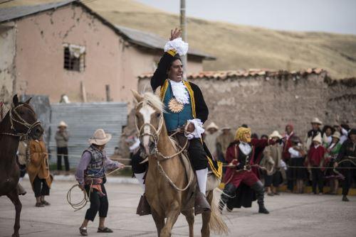 Conmemoración de los 239 años de la rebelión de Túpac Amaru II