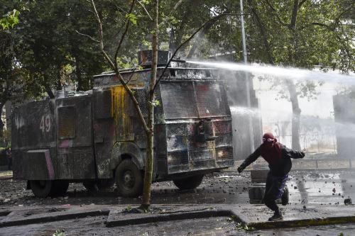 Continúan las protestas en Chile