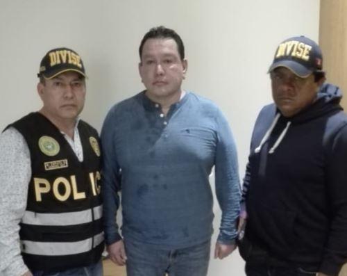 Prófugo Félix Moreno fue capturado por la Policía