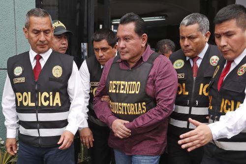 Félix Moreno es trasladado de la sede de Requisitorias