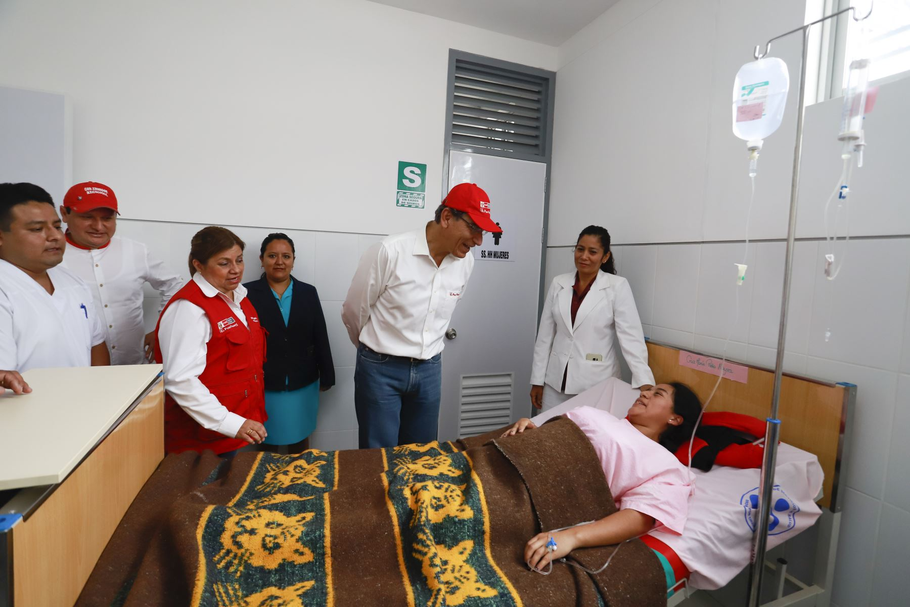 El presidente Martín Vizcarra, inaugura el centro de salud del distrito de Canchaque, en la región Piura. Foto: ANDINA/ Prensa Presidencia
