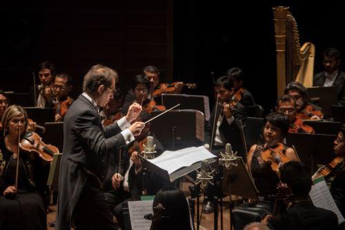 Concierto de la Orquesta Sinfónica Nacional.