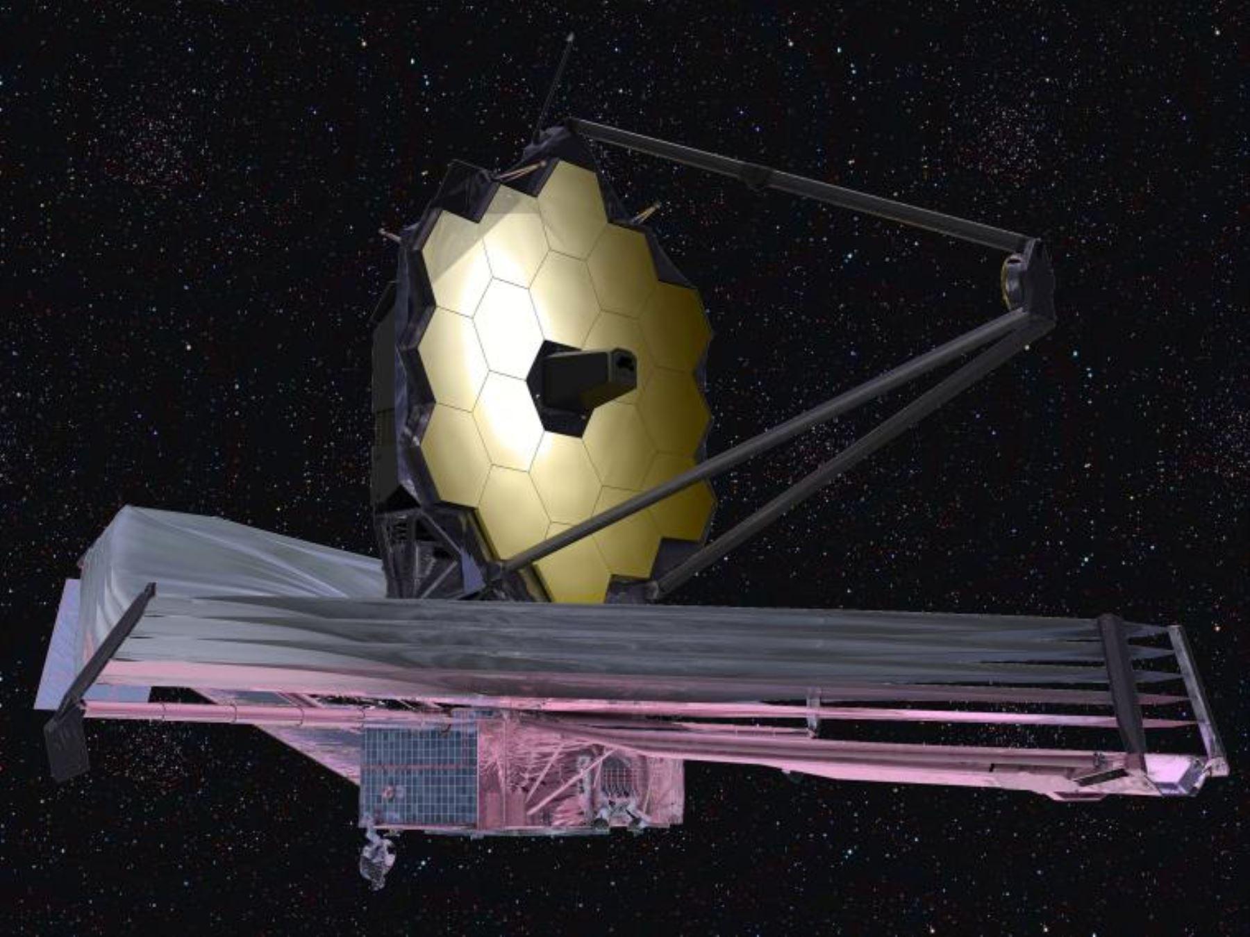 Telescopio espacial James Webb. Foto: NASA