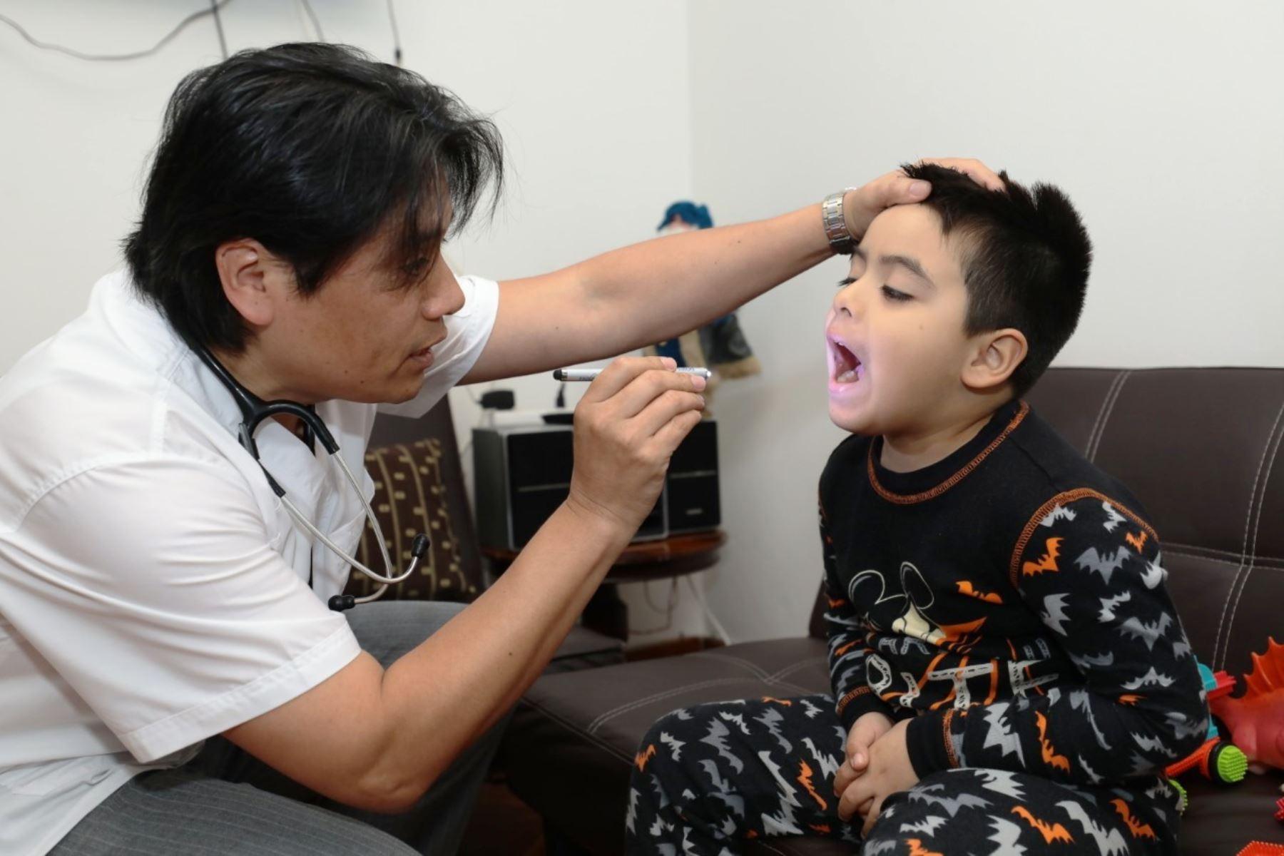 EsSalud brindará atención médica a domicilio a niños asegurados. Foto: ANDINA/difusión.