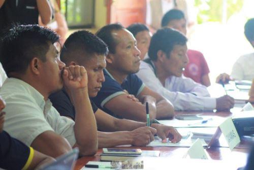 El Ministerio de Cultura brindó asistencia técnica a la Municipalidad Provincial de Condorcanqui para consensuar el Plan de Consulta Previa con ocho comunidades awajún, ubicadas en Nieva y El Cenepa, región Amazonas.