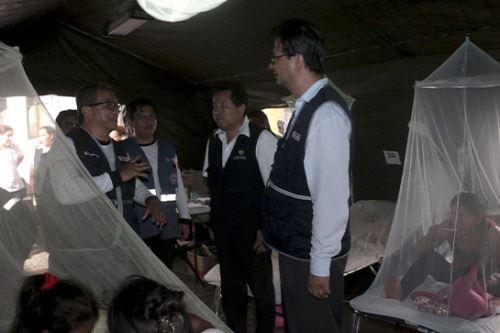 La mayor cantidad de casos de dengue se reporta en la periferia de la región Madre de Dios, precisó el Ministerio de Salud.