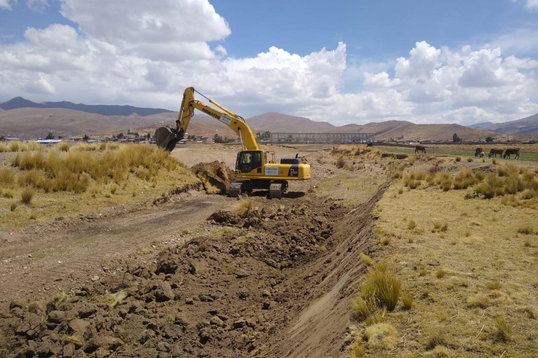 Intervención del MVCS en Puno.