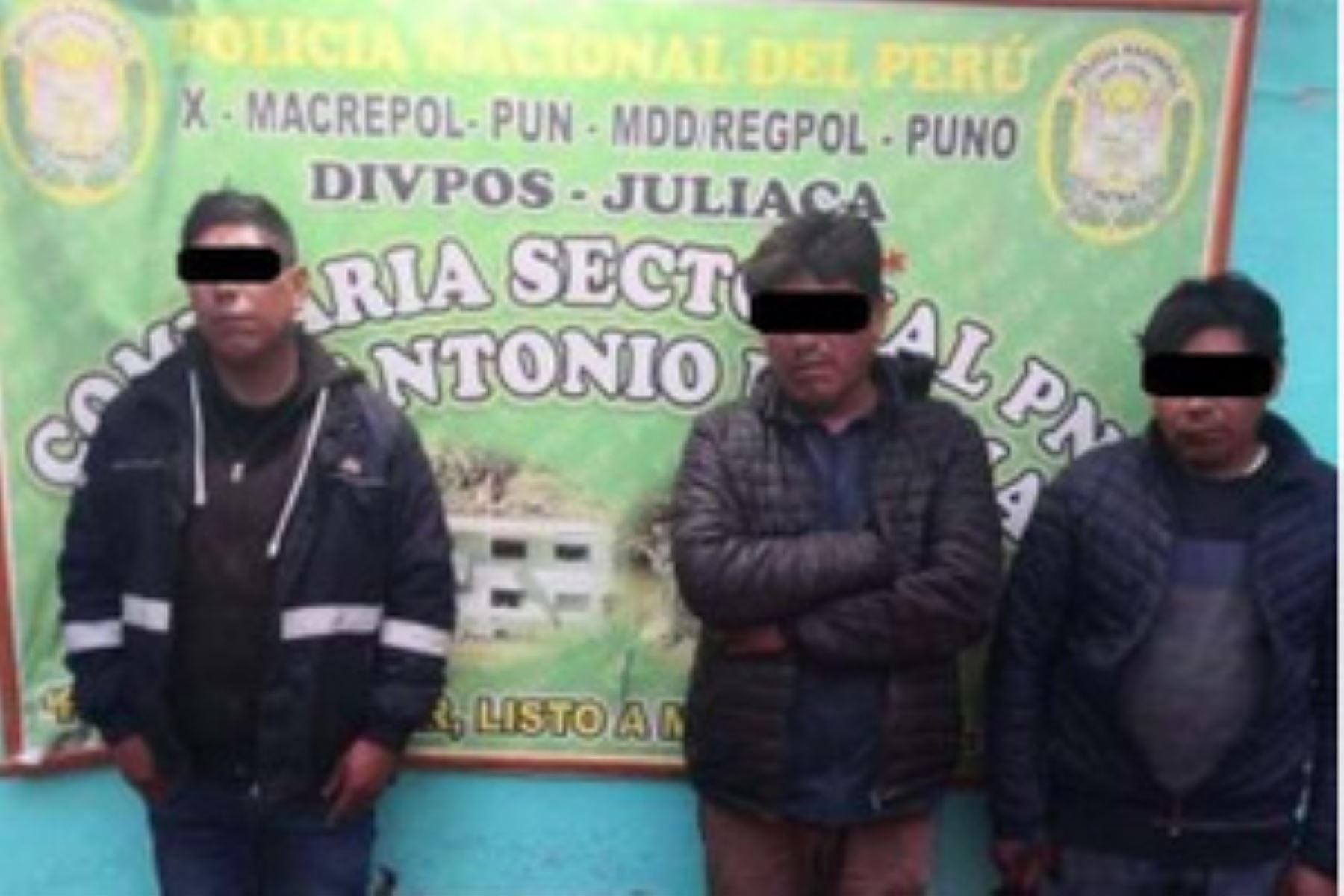 PNP desarticula dos bandas criminales dedicadas a la extorsión en Arequipa y Puno. Foto: referencial.