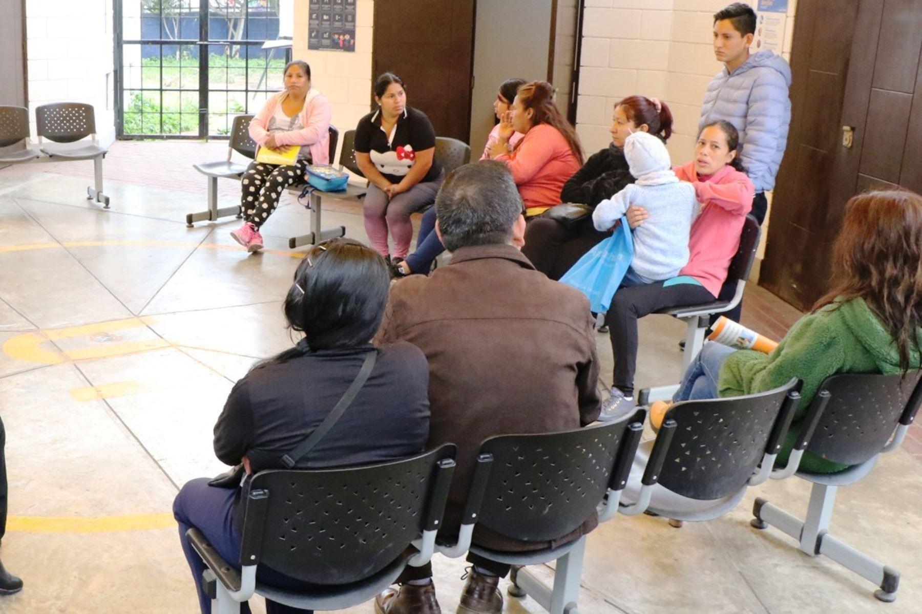 Posta médica. Foto: ANDINA/Difusión.