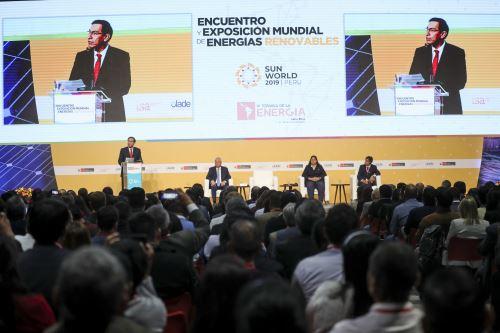 Presidente Vizcarra clausuró el Sun World 2019 Perú-Encuentro y Exposición Mundial de Energías Renovables