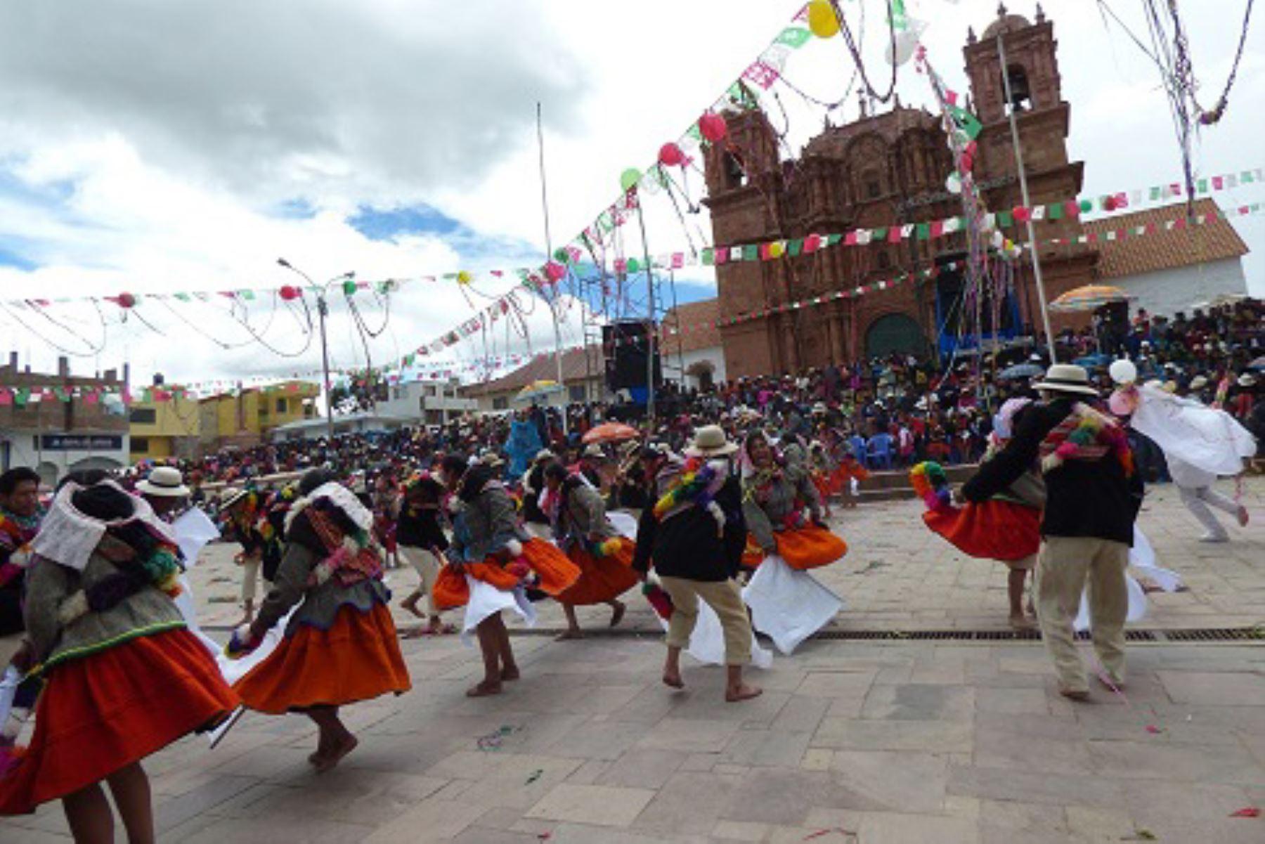 Puno celebra declaratoria de Patrimonio de la Nación a la danza Unucajas de Azángaro. Foto: elaltiplano.com