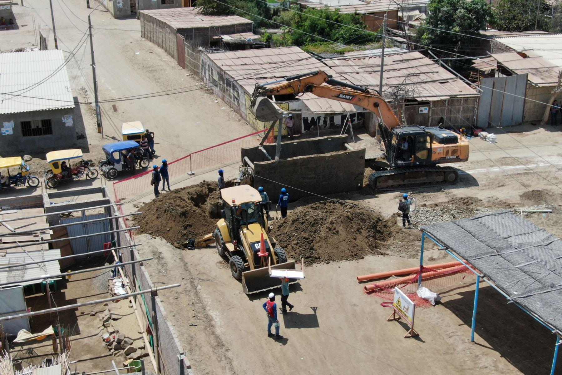 Treinta obras de reconstrucción se iniciarán en ocho regiones con transferencia de S/ 24.8 millones. ANDINA/Difusión