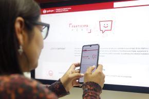 Los ciudadanos ya pueden registrar sus propuestas en Participa Perú desde la plataforma digital única Gob.pe Foto: ANDINA/Renato Pajuelo