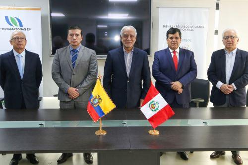 Petroperú y Petroamazonas firmaron memorando de entendimiento.