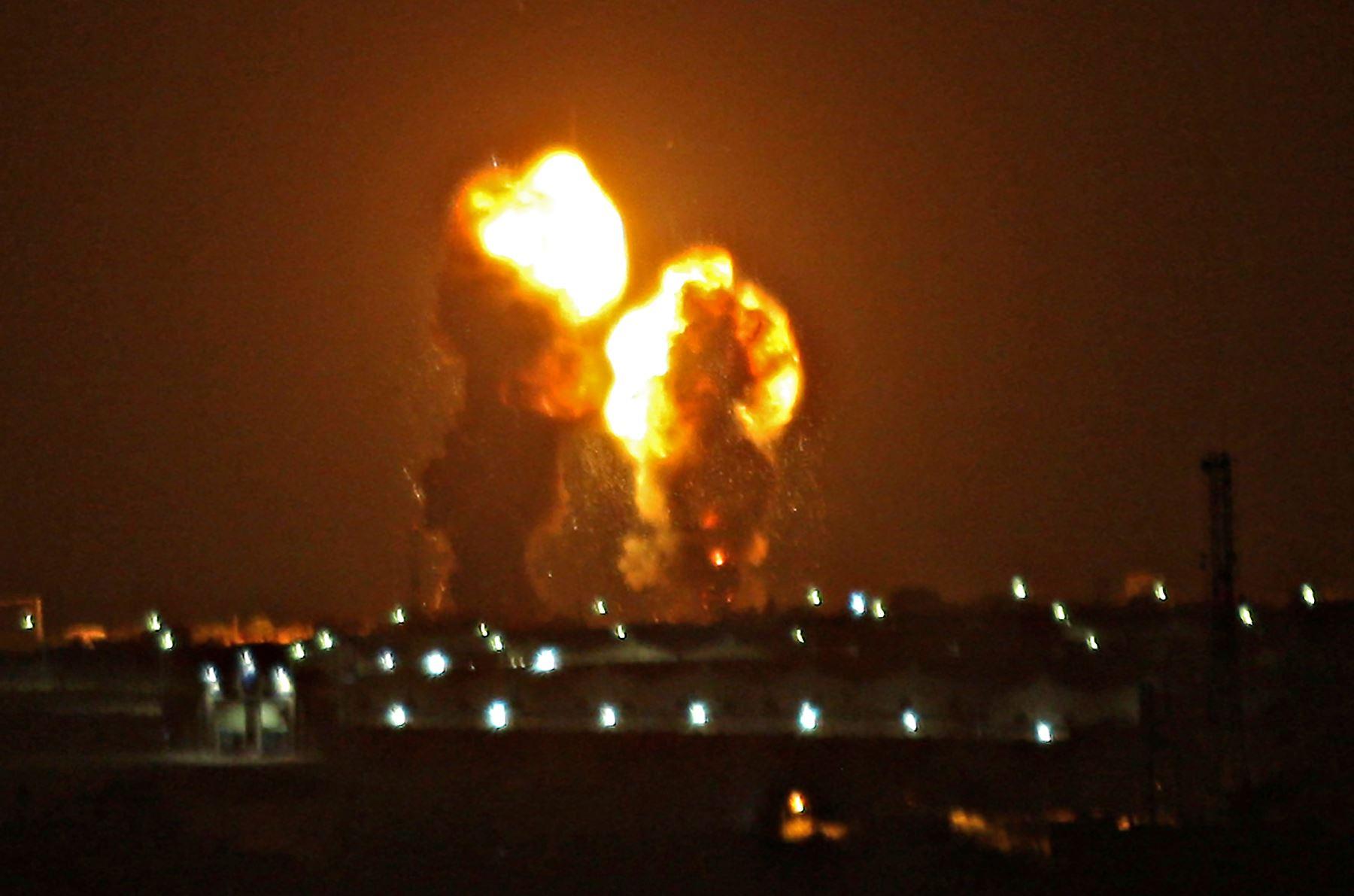 Palestina: Israel bombardea movimiento islamista en franja de Gaza - Agencia Andina
