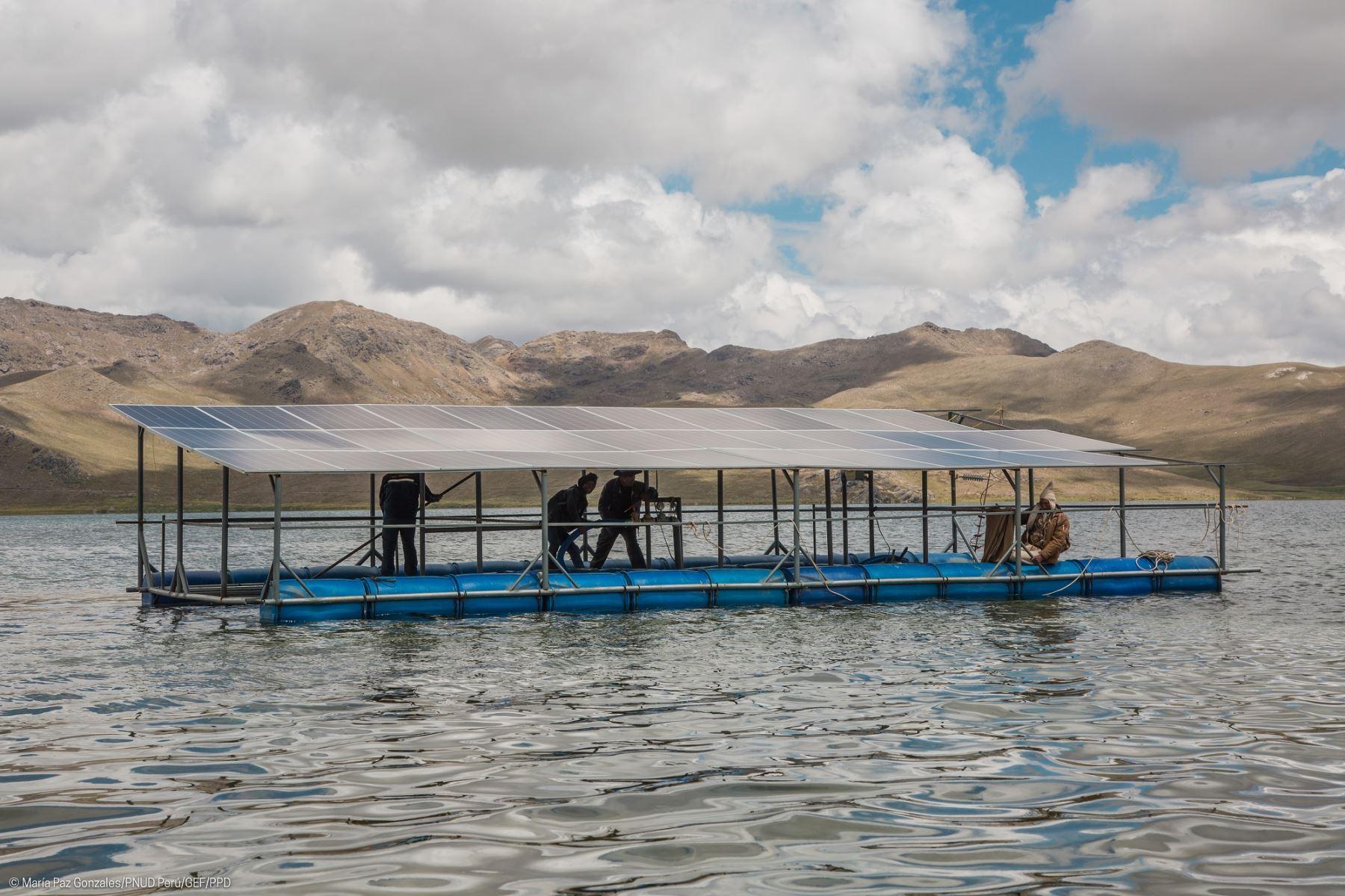 Puno y Arequipa crean innovaciones sostenibles usando energía del sol (Foto: PNUD)