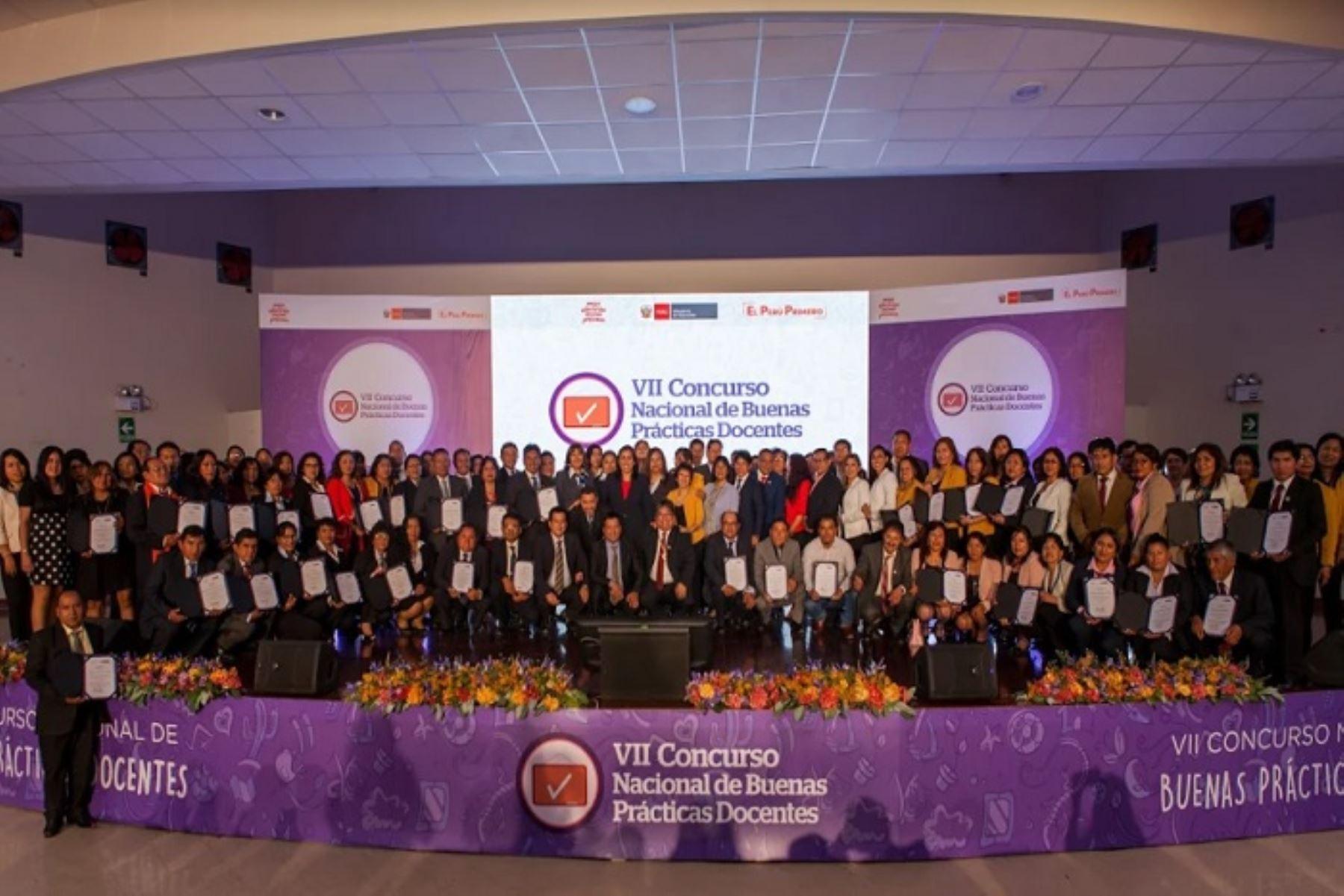 Los maestros reconocidos laboran en instituciones educativas de Amazonas, Áncash, Apurímac, Arequipa, Ayacucho, Callao, Cusco, Huancavelica, Junín, La Libertad, Lambayeque, Lima, Piura y Tacna