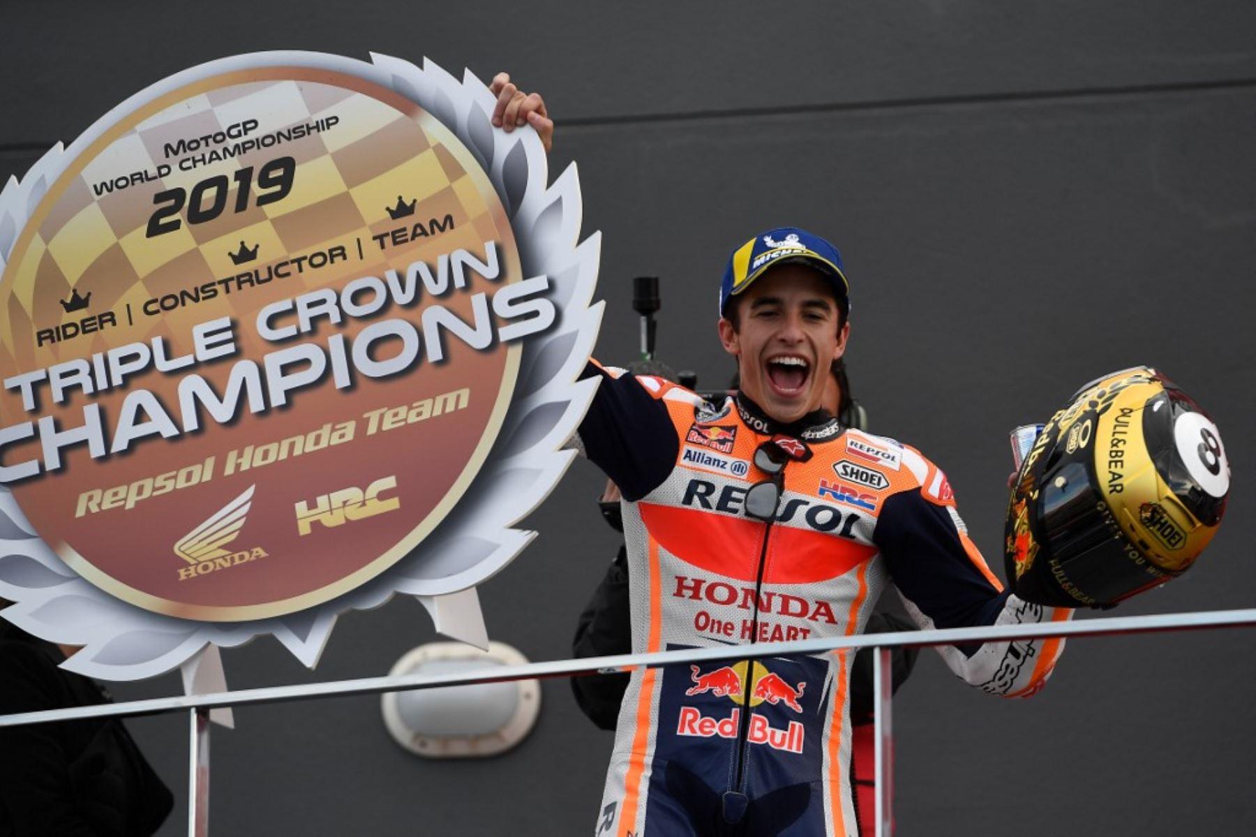 Marc Márquez, gana el GP de Valencia de MotoGP