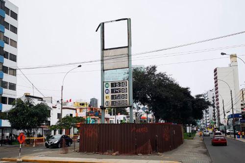 Grifo clausurado hace cinco años en Magdalena. Foto: Andina/difusión