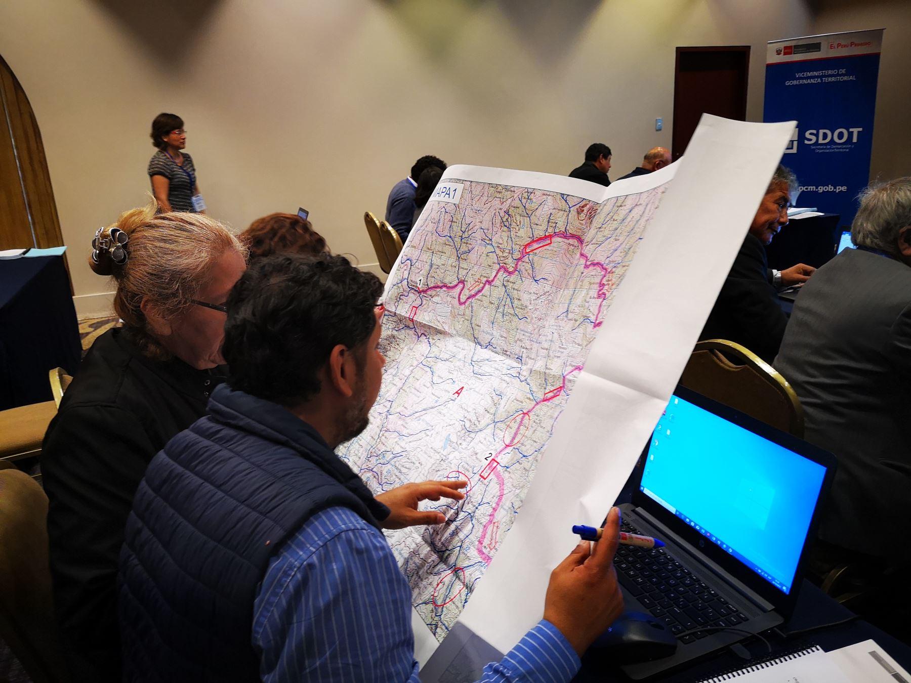 La Libertad: 70% de las provincias avanzan en el proceso de saneamiento de sus límites - Agencia Andina