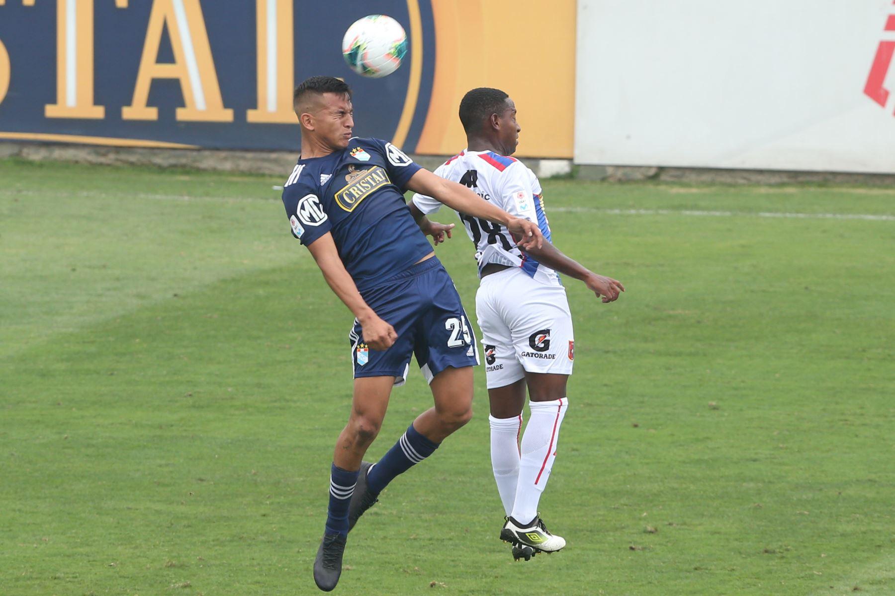 Sporting Cristal  gana 2 a 1 ante  Alianza UDH  por el Torneo Clausura de la Liga 1. Foto: ANDINA/ Eddy Ramos