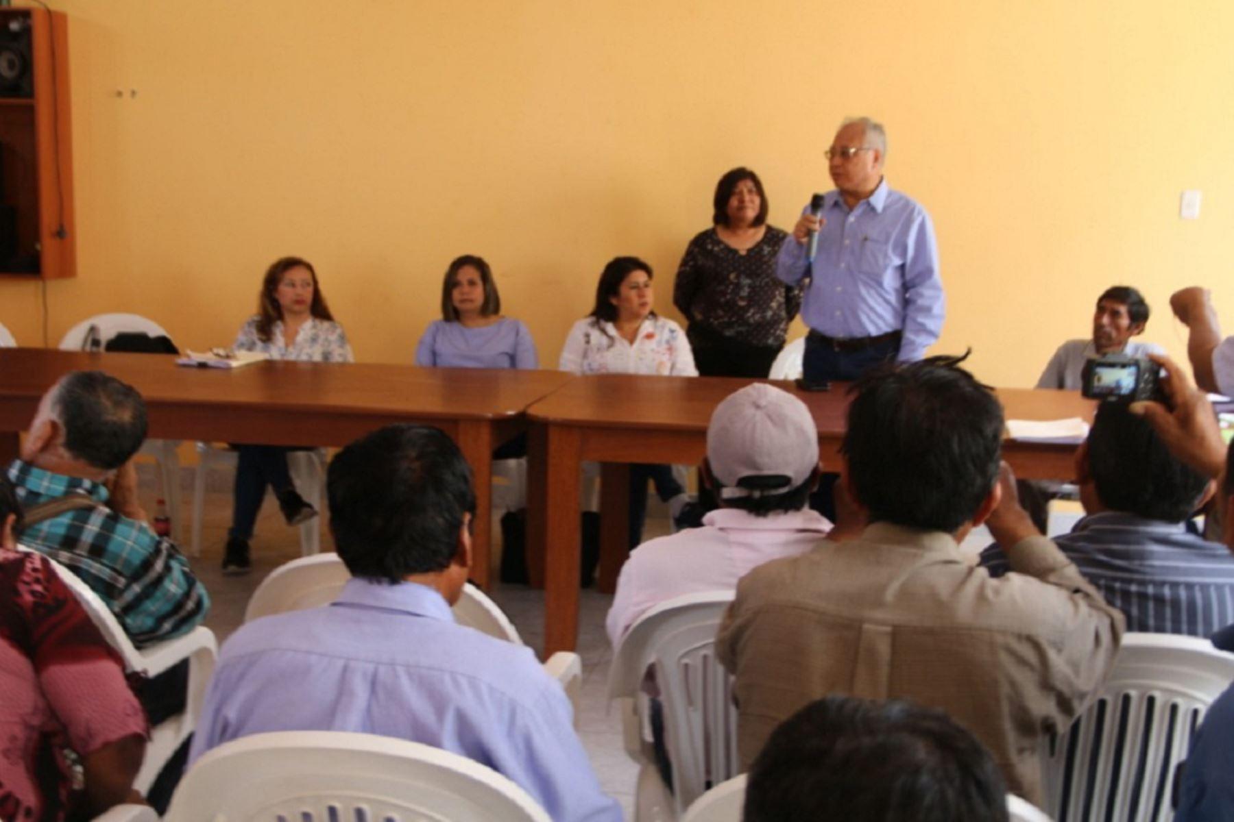 Grupo de Trabajo del Sector Tumilaca. Foto: Cortesía.
