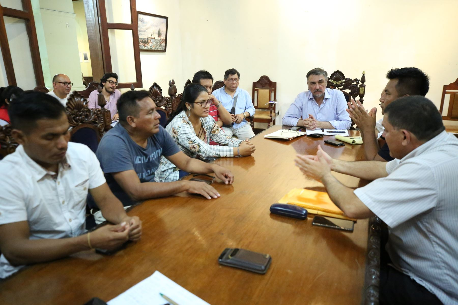 Ejecutivo y comunidades nativas trabajan en Plan de Cierre de Brechas de Loreto