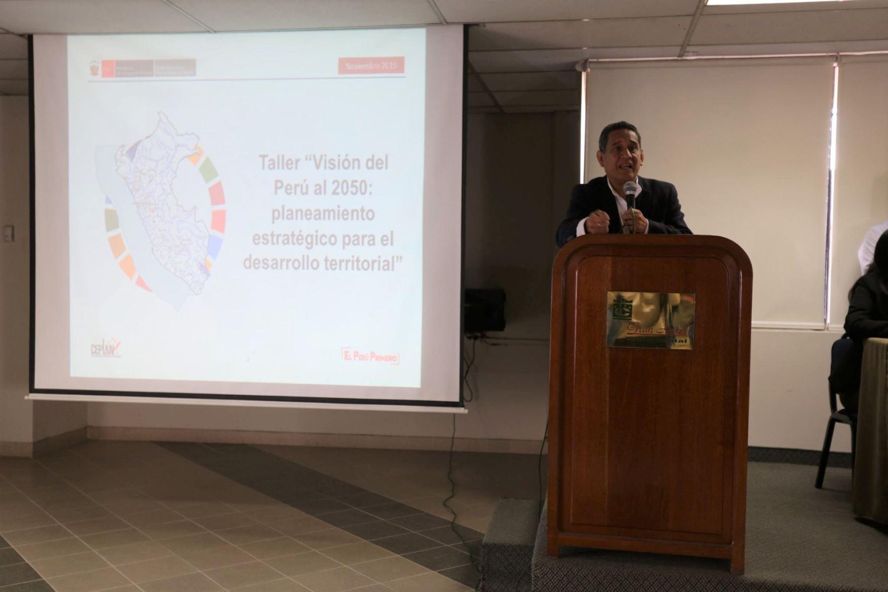 Cajamarca avanza en planificación estratégica para desarrollo de la región - Agencia Andina