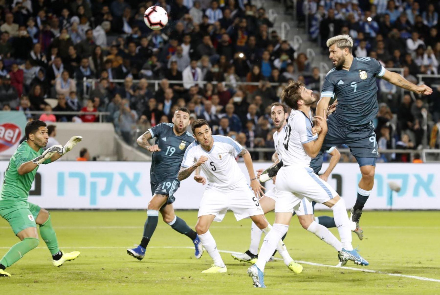 Argentina y Uruguay igualaron en Israel