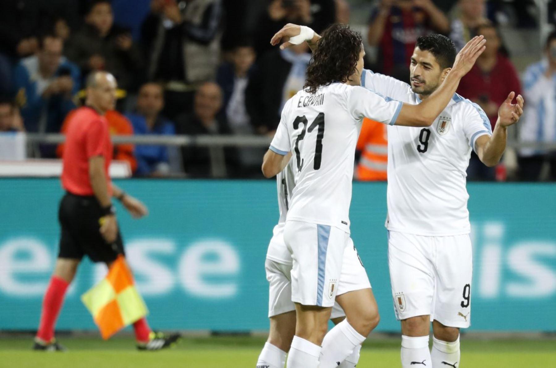 Luis Suárez demostró todo su poder ofensivo