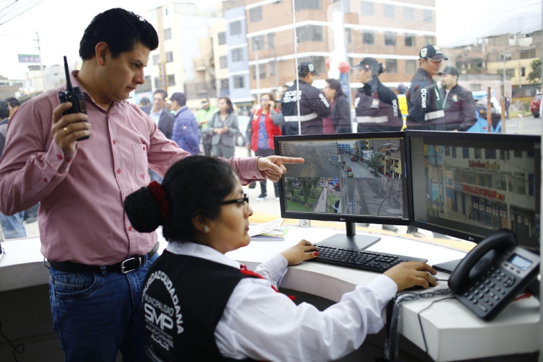 Instalan cámaras de videovigilancia con reconocimiento facial en SMP Foto: Difusión