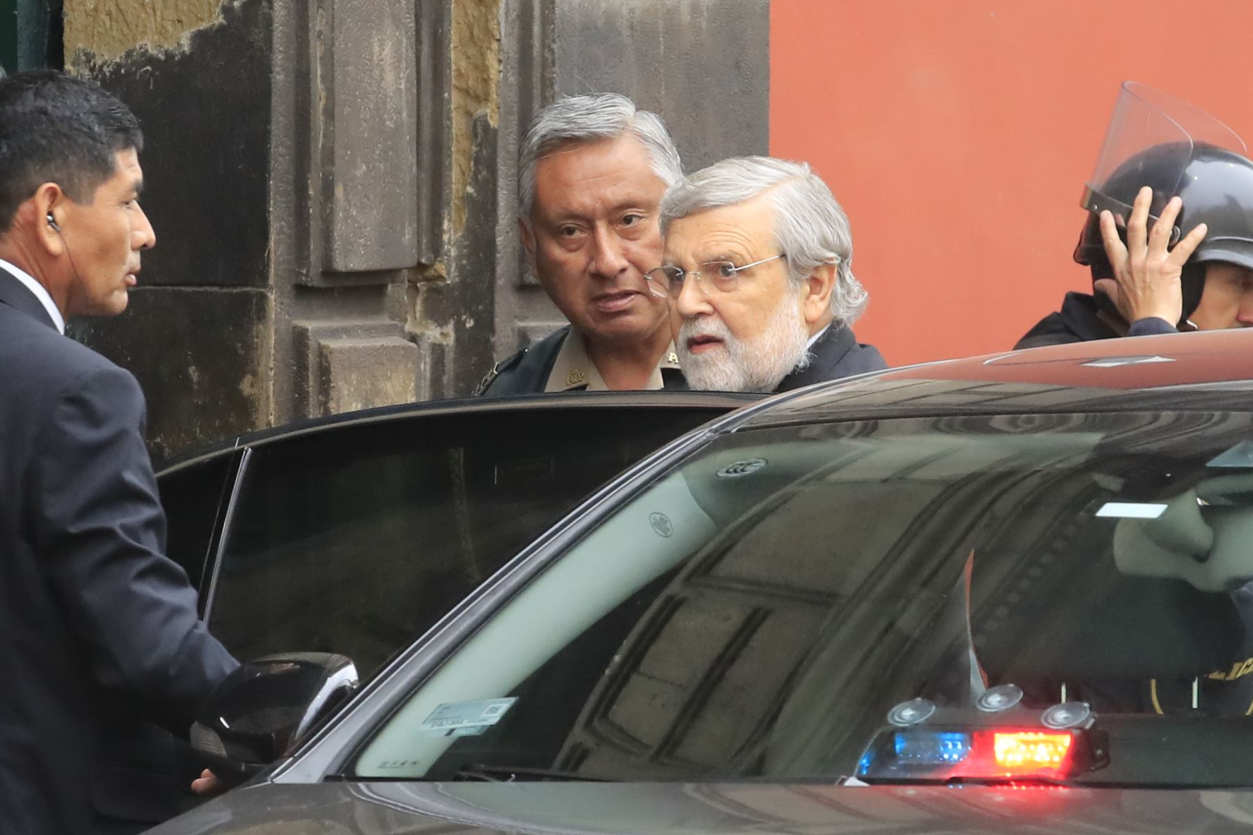 Ernesto Jorge Blume Fortini, Presidente del Tribunal Constitucional. Foto: ANDINA/ Juan Carlos Guzman