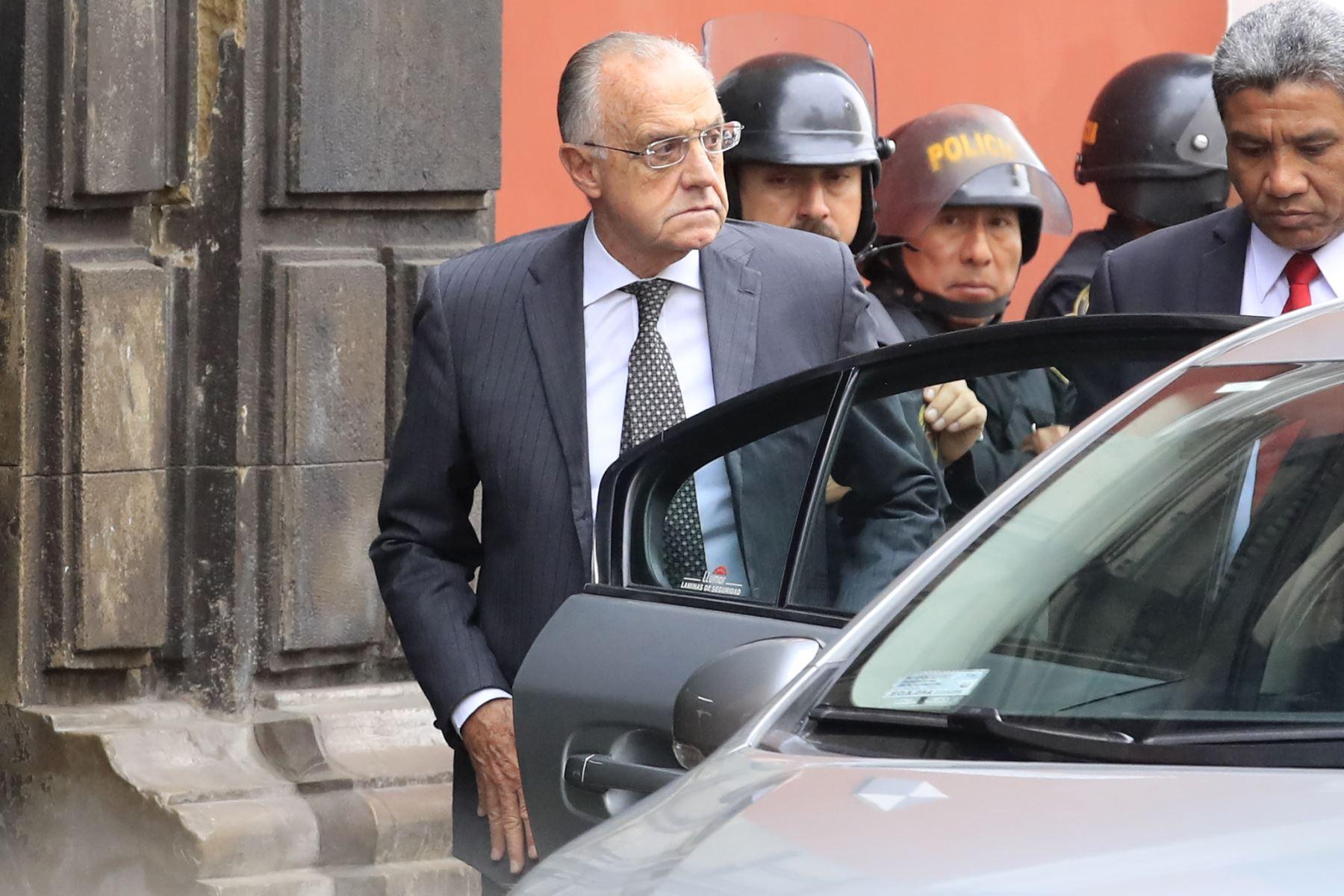 Augusto Ferrero Costa, magistrado del Tribunal Constitucional. Foto: ANDINA/ Juan Carlos Guzman