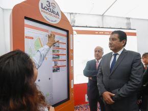 """Ministro Rodolfo Yáñez durante el lanzamiento de la feria online """"3 Días de Locura Inmobiliaria."""