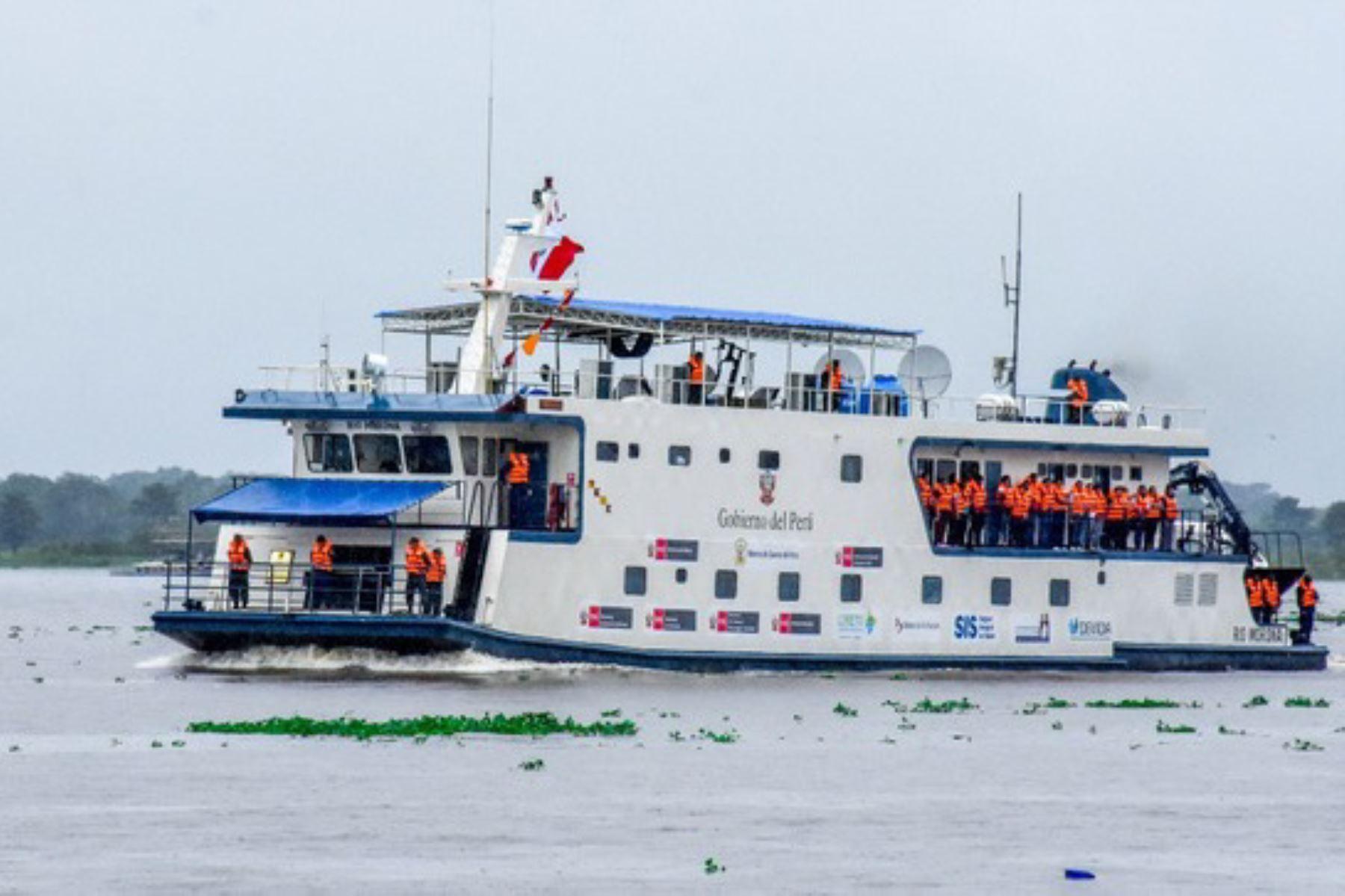 La quinta y última campaña de acción social del 2019 en la Amazonía se efectuará en seis embarcaciones.